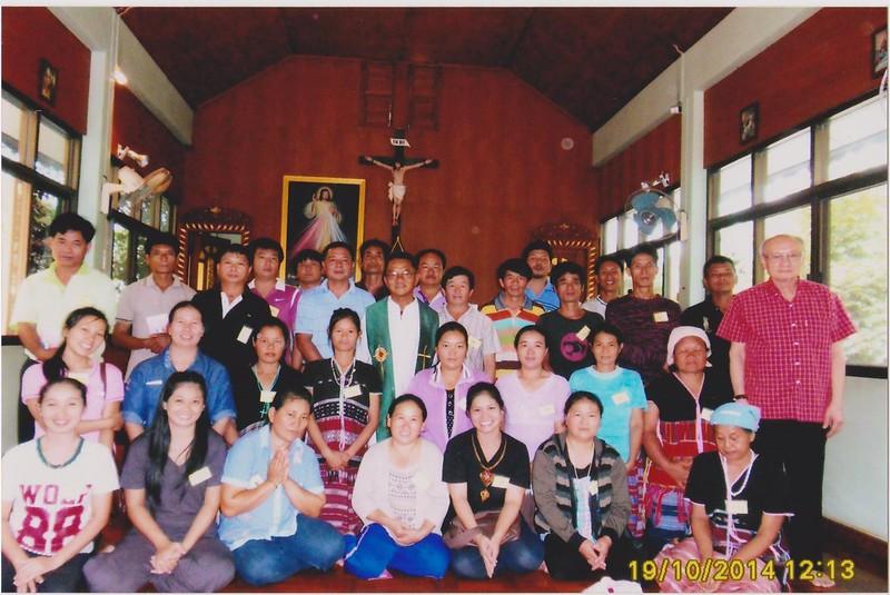 สังฆมณฑลเชียงใหม่ จัดสัมมนาฟื้นฟูชีวิตครอบครัว รุ่นที่ 88
