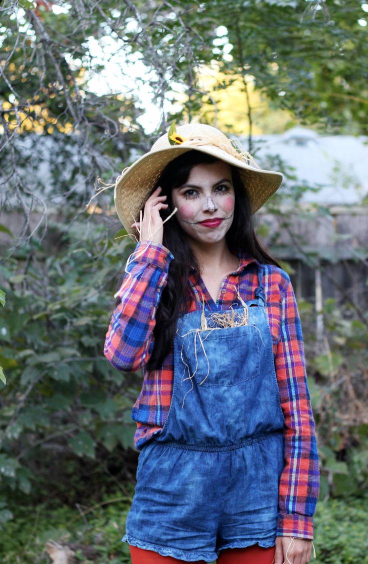 scarecrow closet costume