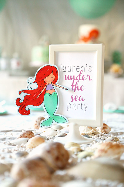 lauren's mermaid party
