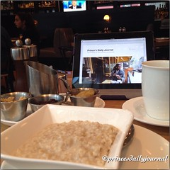 "#RCMemories:Another Day at Work. #whatsprinceeating: ""Steel Cut Oatmeal"" www.princesdailyjournal.com #princeinthecity #princesdailyjournal #blogging #work #study #play #politics #networking #Law #LawSchool #suffolklaw #breakfast #myfab5 @bestfoodboston #b"