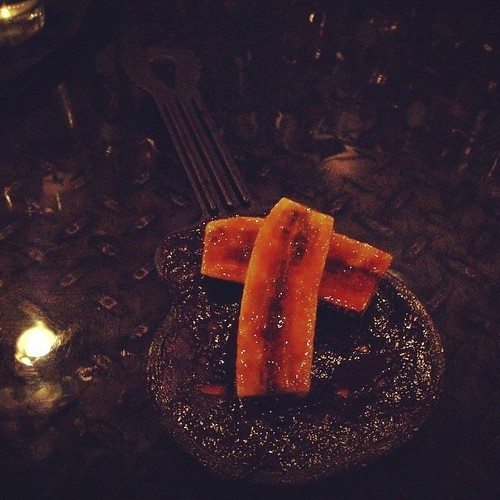 A delicious guitar-shaped dessert?! Yes, please!  #latergram