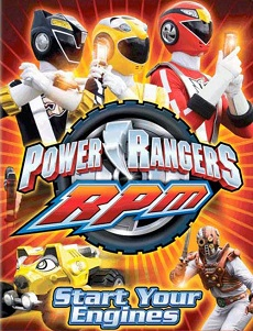 Power Rangers R.P.M - Power Rangers RPM