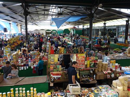 Un bout du marché de Balti
