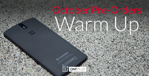 OPO - Október pre-orders warm up