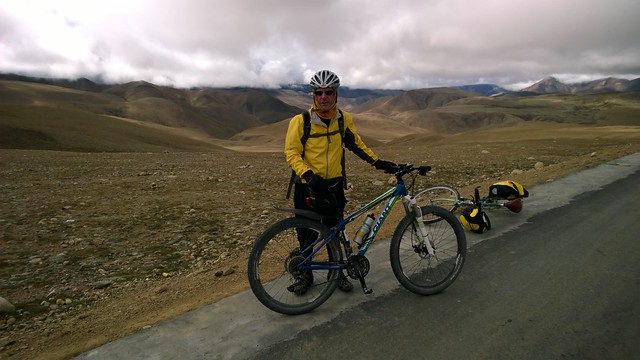 Lalung La Pass, the last one in Tibet
