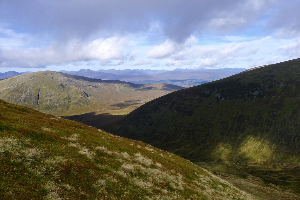 Northwest from Meall na Teanga