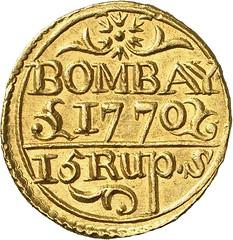 310r INDIA. Presidency of Bombay. Mohur