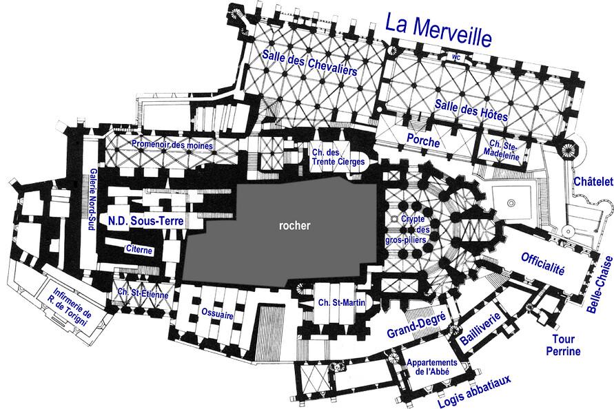 Mont Saint-Michel - 1er