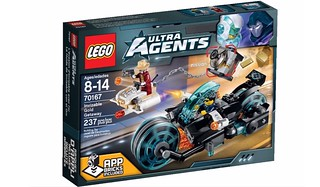 LEGO Ultra Agents 2015  : 70167 Invizable Gold Getaway
