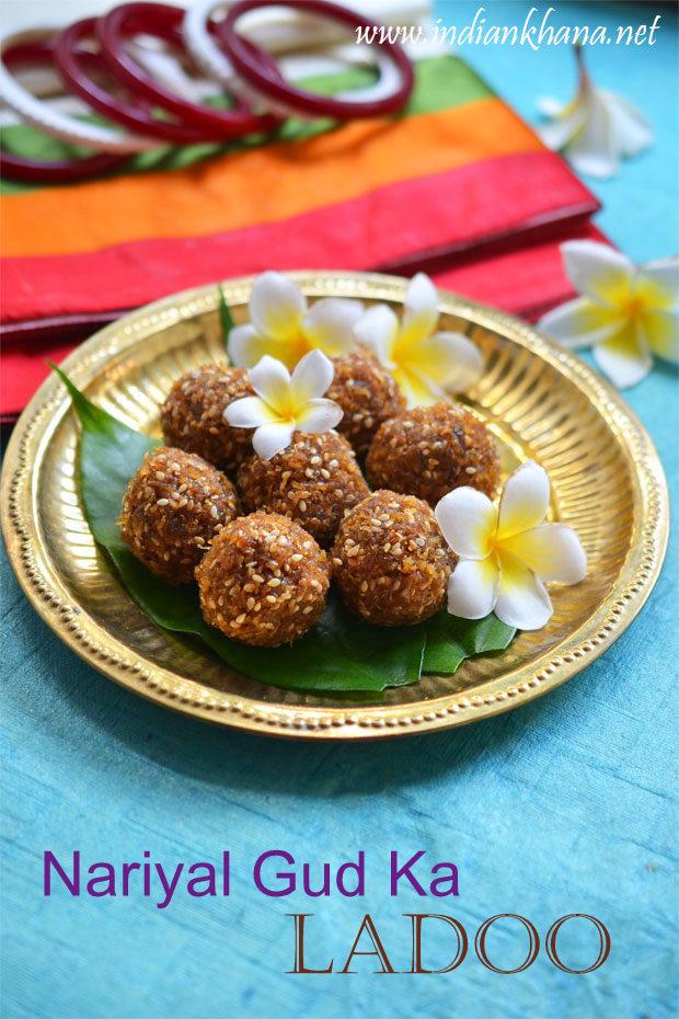 Coconut-Jaggery-Ladoo-Kobbari-Louz