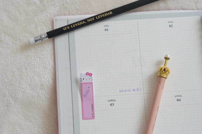 Daisybutter - UK Fashion and Lifestyle Blog - StickerStack, korean stationery review, korean pencilcase, 100 short stories notebook