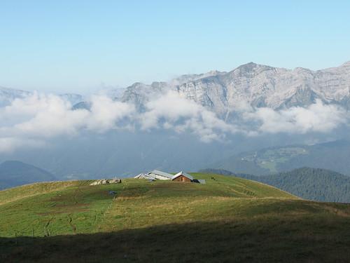 Chalet de l'Aulp de Marlens @ Hike to Mont Charvin