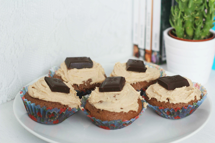 Cinnamon Chocolate Cupcakes 1
