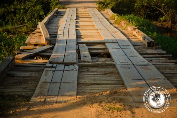 Bridge along the Transpantaneira, Pantanal