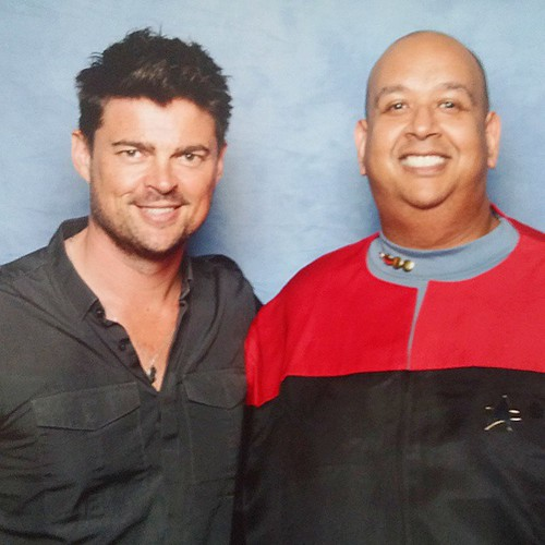 #karlurban was a total babe! #dst3
