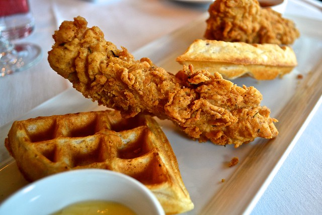 crossroads chicken waffles