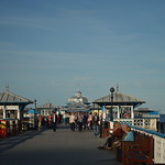 Having a Stroll on Llandudno Pier