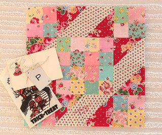Sew Sweet Bee Block Heather