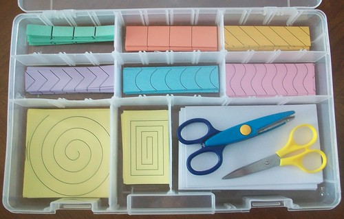Paper Cutting Activities (Photo from Teaching from a Tacklebox)