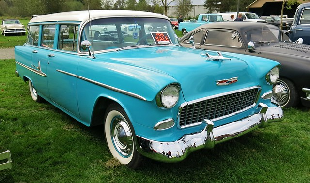 1955 chevrolet bel air 4 door station wagon flickr for 1955 chevy 4 door wagon