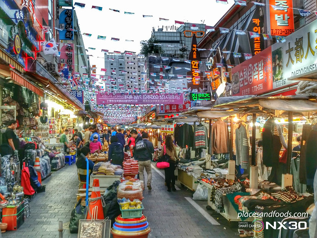 Namdaemun Market shopping