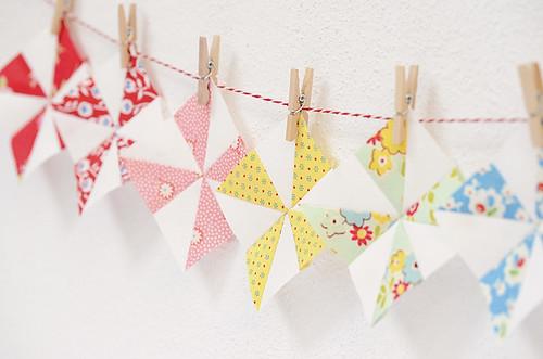 Windrädchen tiny pinwheels