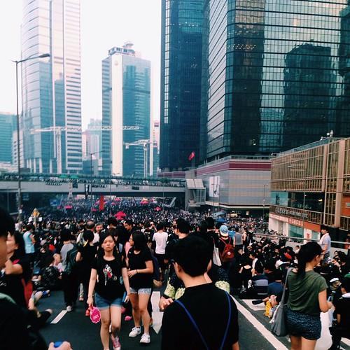 不應浪漫化,但的確很浪漫 #hkclassboycott #hkstrike #hkstudentstrike #hkig