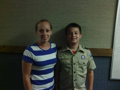 Sept 10 2014 Clark in boy scouts