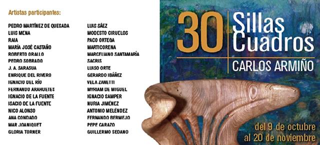 Exposición 30 Sillas 30 Cuadros