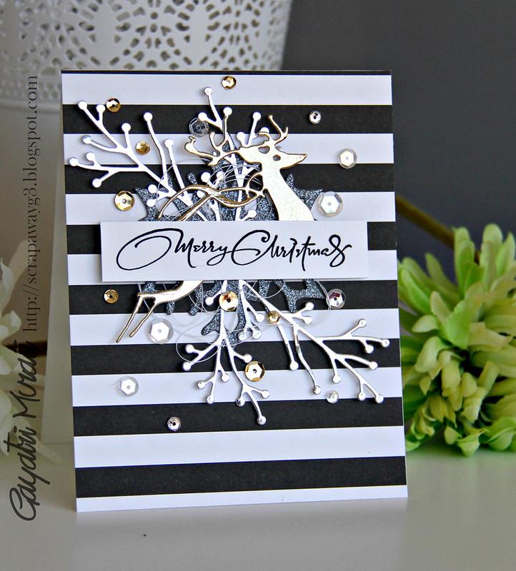 Handmade by g3 christmas card series set ii for Elegant homemade christmas cards