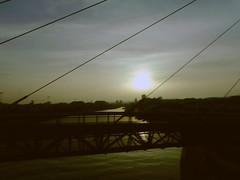 Sunset over Pescara