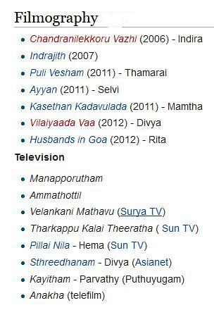 Divya Padmini Tv Serial Actress | Name : Divya Padmini Date … | Flickr