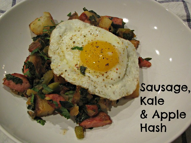 Sausage Kale & Apple Hash