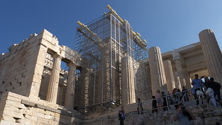 Afbeelding van Propyleeën in de buurt van Athene. lumix panasonic g3