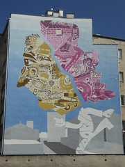 Chopin mural on Tamka Street