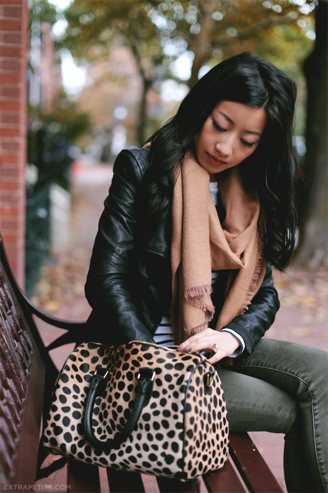 Leopard stripes scarf3