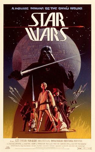 Ralph McQuarrie Star Wars poster concept art