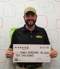 James Gersema - $10,000 Powerball
