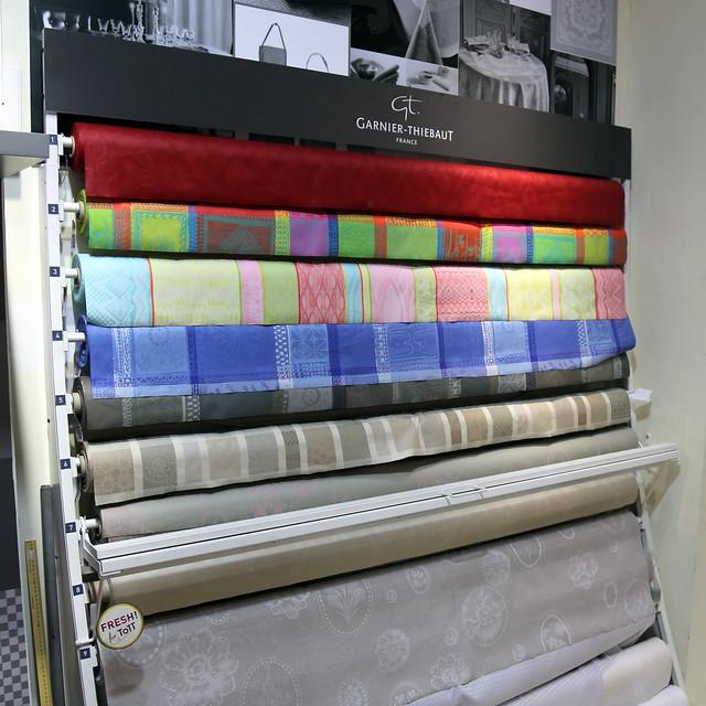 New at ToTT! Garnier-Thiebaut stain-proof linen