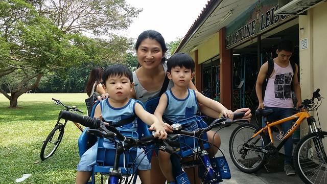 Cycling at East Coast Park!