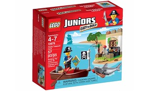 LEGO Juniors 2015 : 10679 Pirate Treasure Hunt