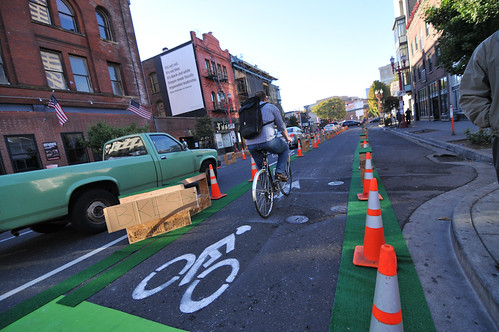 Better Block demonstration project on 3rd Ave-8
