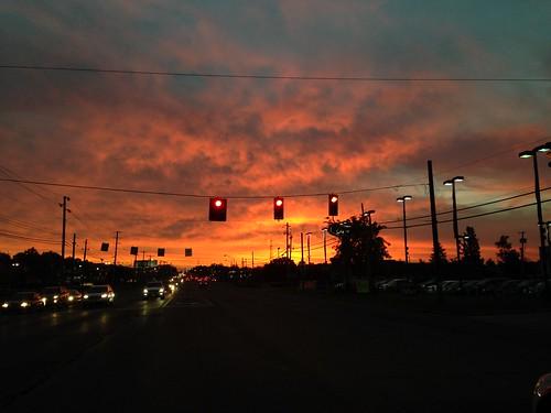 red orange clouds sunrise montrose mobilepictures photooftheday morningcolors octoberskies mobilephotography iphonephotography flickrsunrises sunrisesofflickr