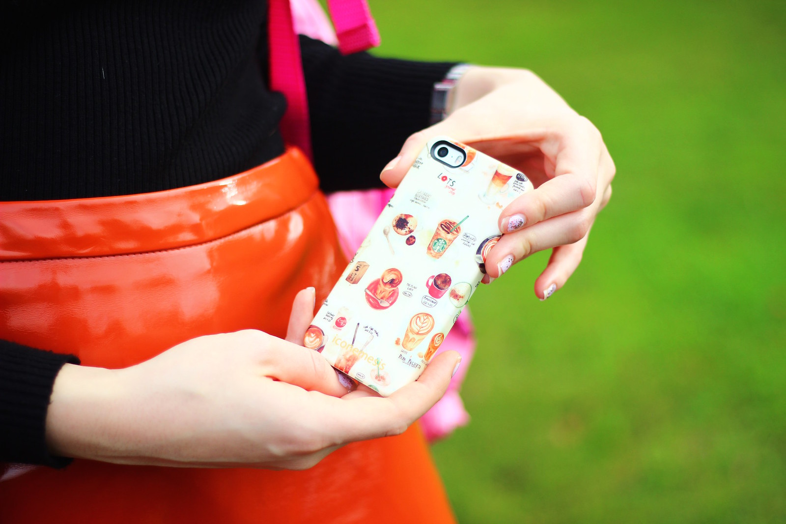 3phonecase, blogger, iconemesis, hello kitty, pastel hair, style
