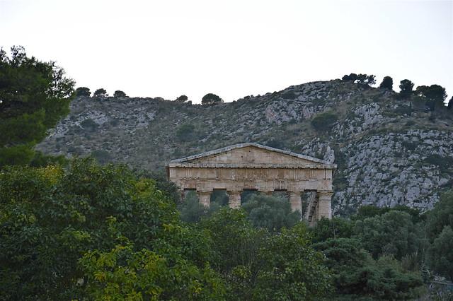 Tempio di Segesta: il frontone