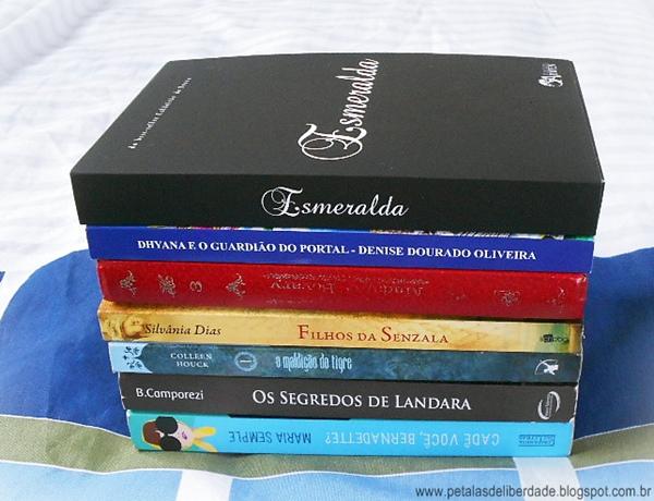 Caixa de Correio, Pétalas de Liberdade, blog, livros