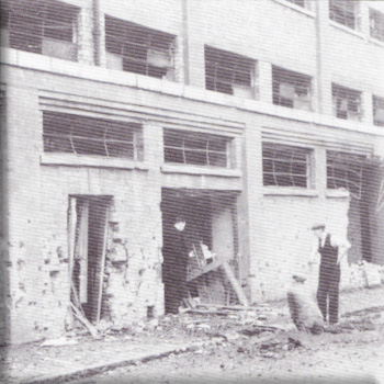 picture of Gwladys street bombing