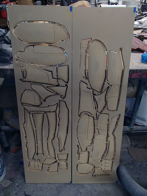 SA Thigh Parts Carved