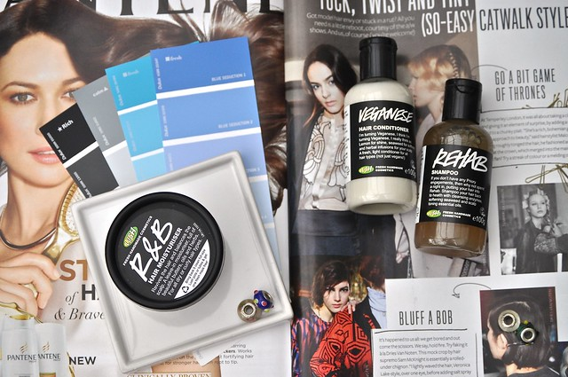 Lush Hair Products 1