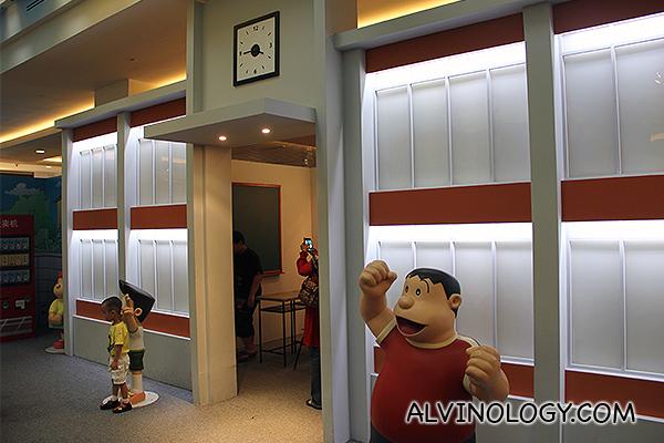 Nobita's classroom